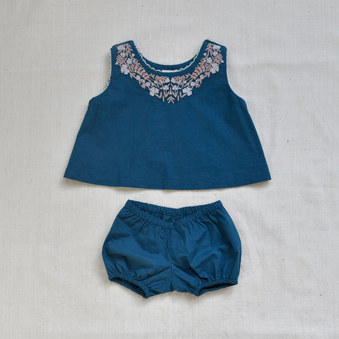 Apolina Kids Bess Set - Prussian Blue