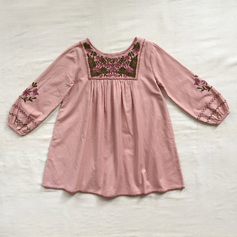 Apolina Kids Francoise Dress - Backwheat Pink