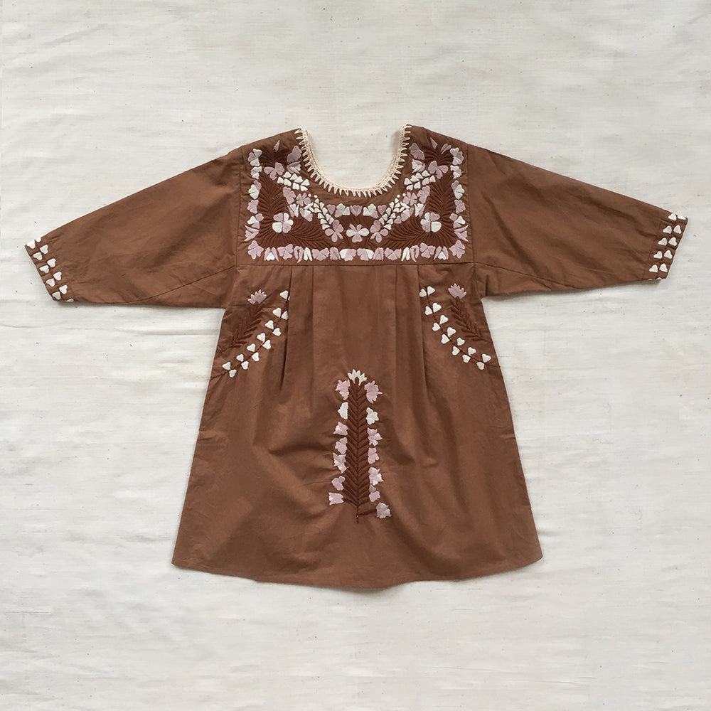 Apolina Kids Pattie Dress - Fawn