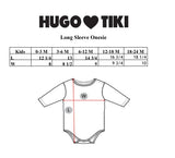 Hugo Loves Tiki Onesie - Pink Bunny