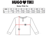 Hugo Loves Tiki Wide Henley Tee - Hot Dogs