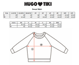 Hugo Loves Tiki Sweatshirt - Red Hears