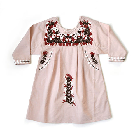 Apolina Kids Pattie Dress - Sandstone Pink