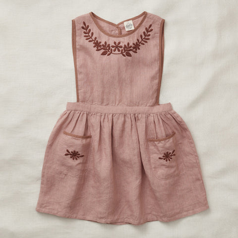 Apolina Kids Bobbie Pini Dress - Morrocan Rose