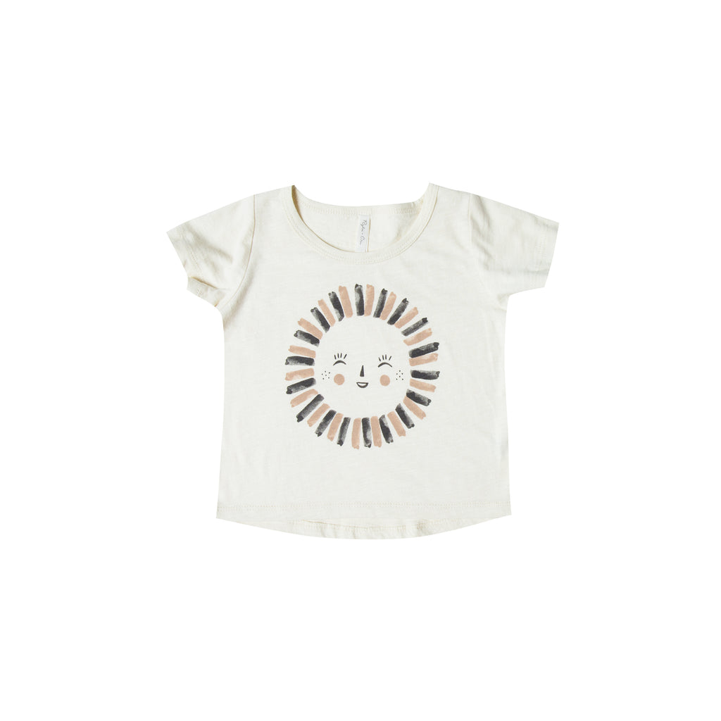 Rylee and Cru Basic Tee - Sun