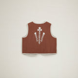 Apolina Kids Bo Gilet - Nut