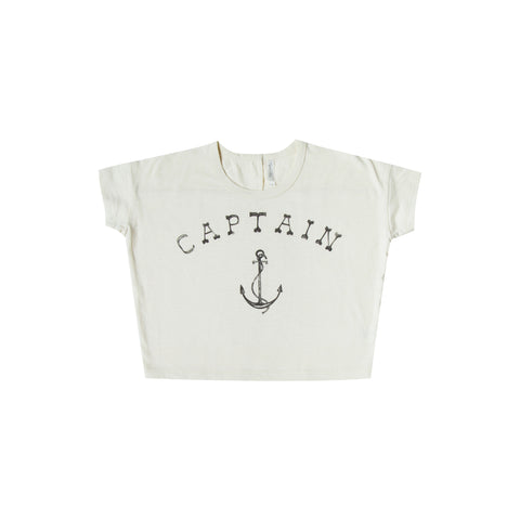 Rylee and Cru Boxy Tee - Captain