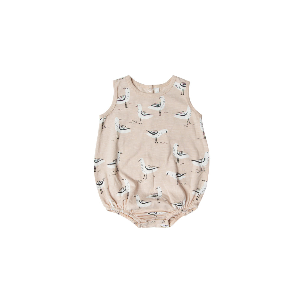 Rylee and Cru Bubble Onesie - Seagulls