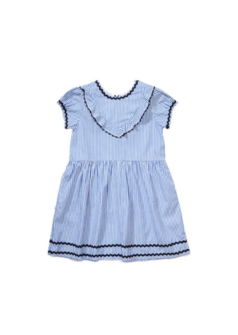 CARAMEL Chaya Dress - Blue Stripe