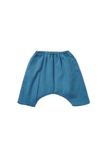 CARAMEL Crawley Baby Trousers - Misty Blue