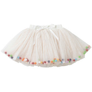 Rock Your Baby Celebration Tutu - Cream