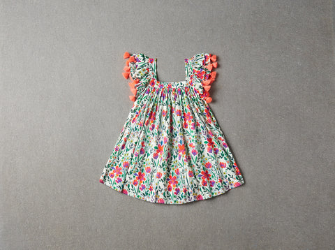 Nellystella Chloe Dress - Poppy Floral