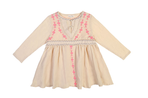 Louise Misha Dress Kaja - Beige