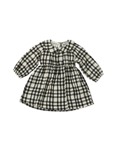 Soor Ploom Fern Dress - Plaid Double Gauze