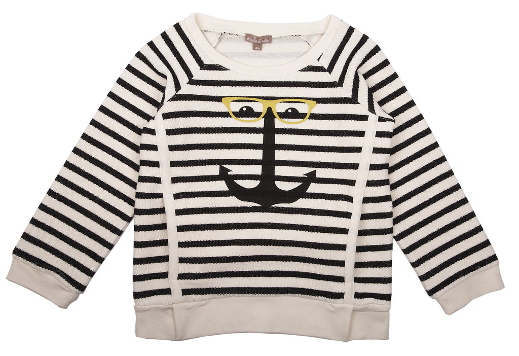 Emile et Ida Striped Sweatshirt