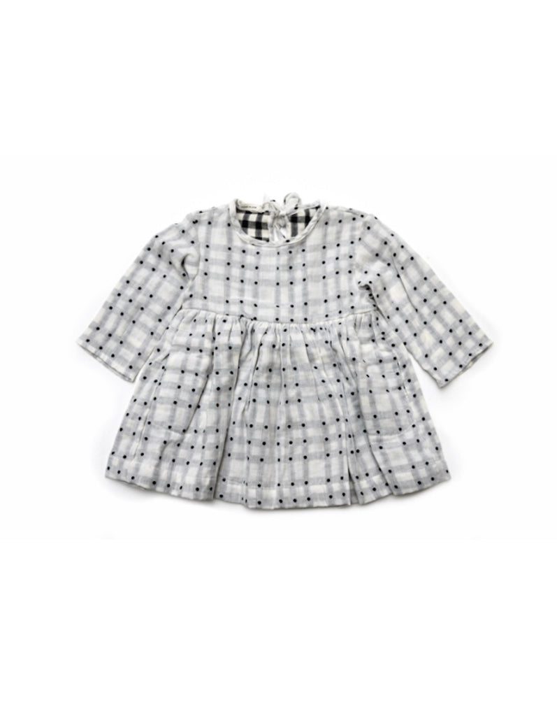 Soor Ploom Josie Dress - Reverse Dot **EXCLUSIVE**