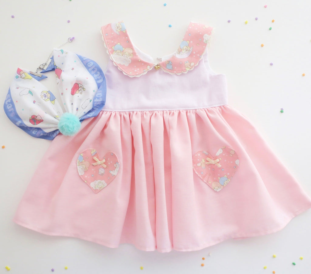 Se Mari Handmade Little Twin Stars Dress