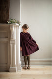 Soor Ploom Fern Dress - Claret Courduroy