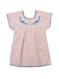 Apolina Kids Jane Dress - Blush **EXCLUSIVE**