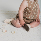 Rylee and Cru June Romper - Seashell