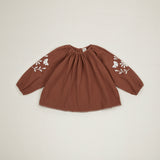 Apolina Kids Jean Blouse - Nut