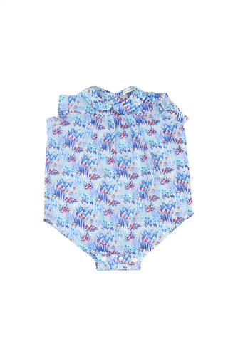 Soor Ploom Magnolia Romper - Garden [Liberty of London]