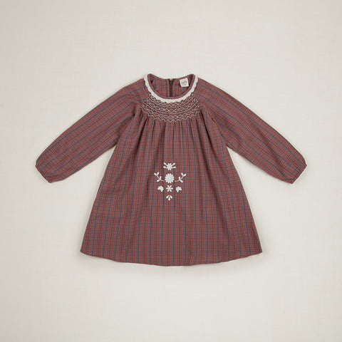 Apolina Kids Maren Dress - Autumn Check