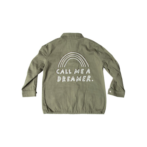 Rylee and Cru Military Jacket - Dreamer