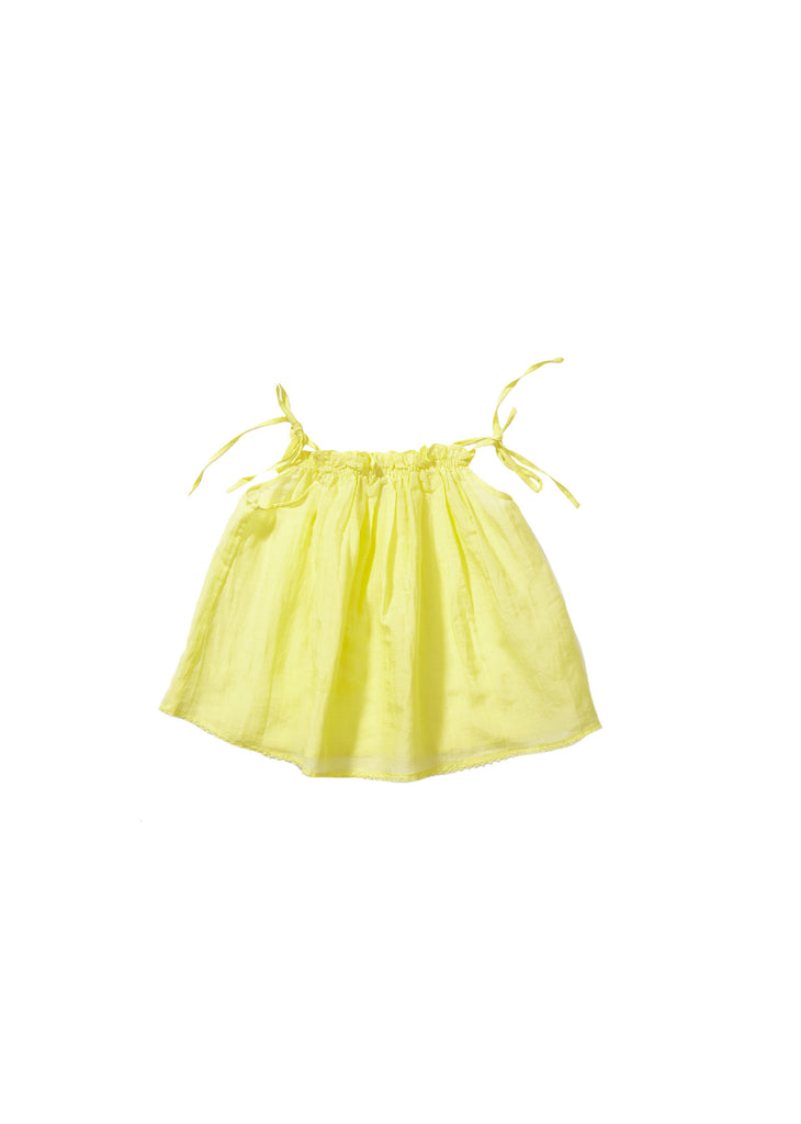 CARAMEL Napa Baby Top - Canary Yellow