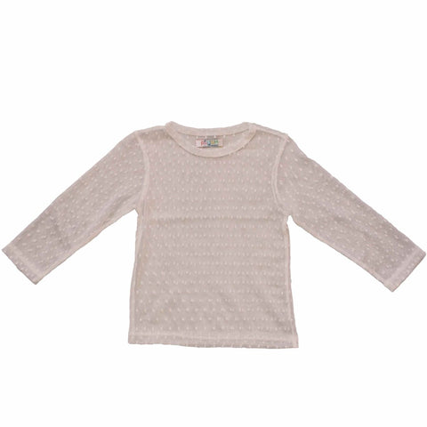 PAUSH Mesh Long Sleeve Top - Nude