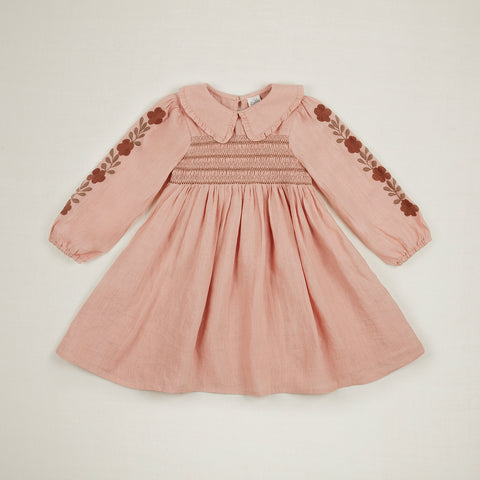 Apolina Kids Nancy Dress - Carnation
