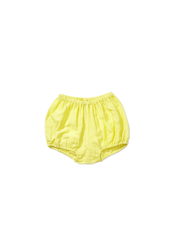 CARAMEL Olive Baby Bloomer - Canari Yellow