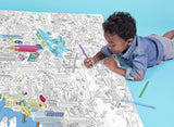 OMY Giant Coloring Poster - New York Citymap