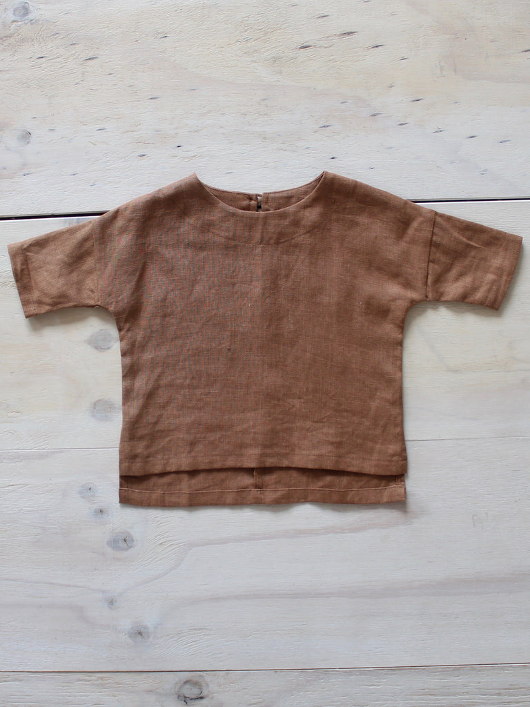 Yoli & Otis Pall Top - Rust