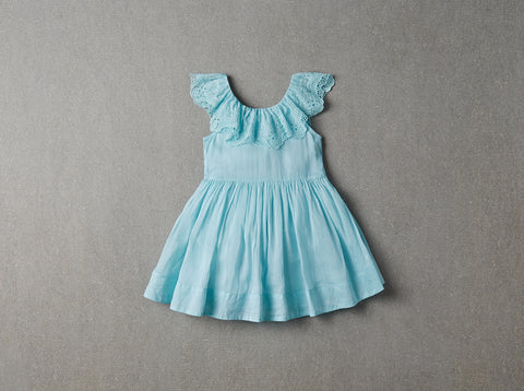 Nellystella Piper Dress - Frosty Blue