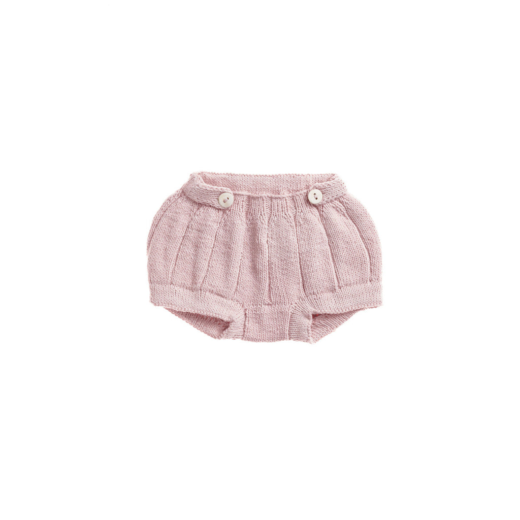 Misha & Puff Pleated Bloomers - Pink Sand