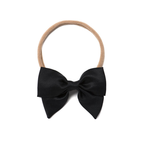 "Free Babes Mini Sailor Bows - Satin ""Black"""