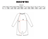 Hugo Loves Tiki Rash Guard - Blue Flamingo