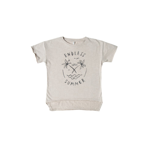Rylee and Cru Raw Edge T-shirt - Endless Summer
