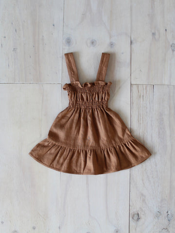 Yoli & Otis Rosi Dress - Rust