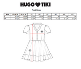 Hugo Loves Tiki Petal Sleeve Dress - Blue Rainbow