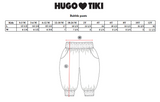 Hugo Loves Tiki Bubble Pants - Pastel Stripes
