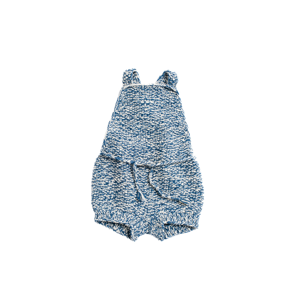 Misha & Puff Starfish Sunsuit - Indigo