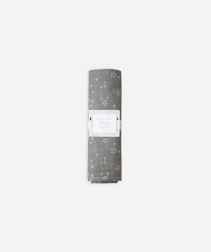 Rylee and Cru Organic Cotton Swaddle - Twinkle