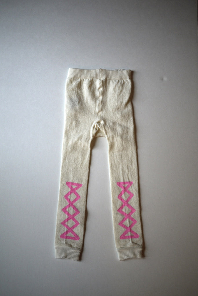 Wovenplay Ribbon Leggings - Rose Pink