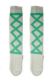 Wovenplay Ribbon Socks - Seafoam