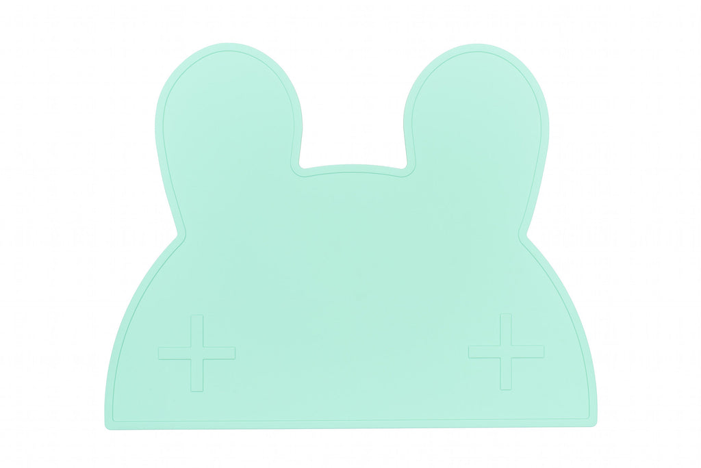 We Might Be Tiny Bunny Placemat - Mint