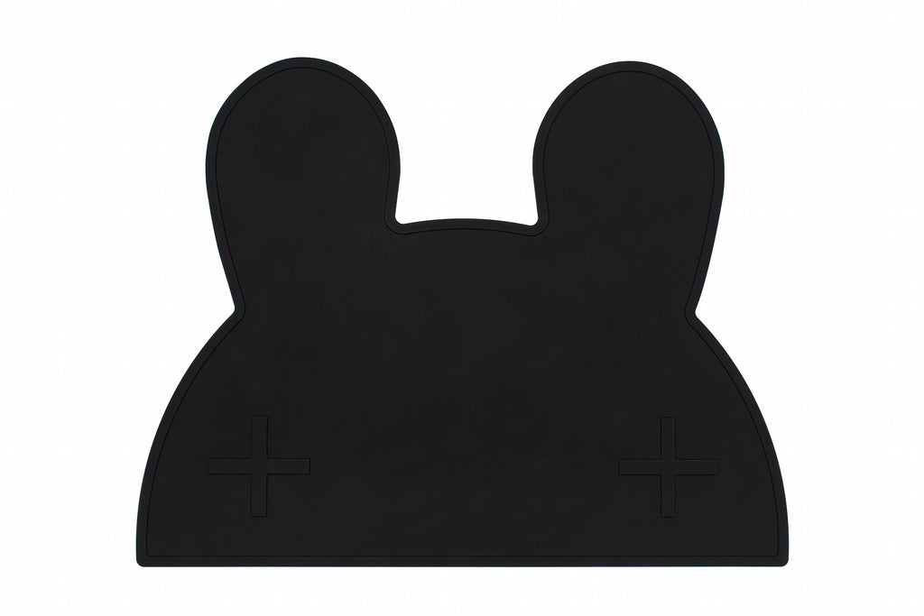 We Might Be Tiny Bunny Placemat - Black