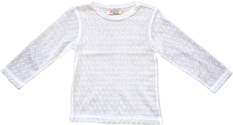 PAUSH Mesh Top - White