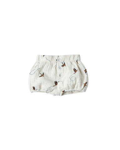 Rylee and Cru Button Shorts - Sparrow